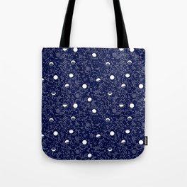 Lunar Tides: Celestial Tote Bag