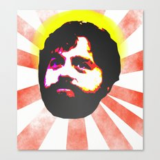 Zach Galifianakis Died for our Sins Canvas Print