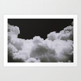 Night Clouds Art Print