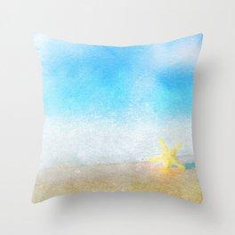 Tropical Sea #6 Throw Pillow