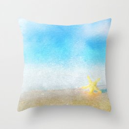 Tropical Sea #6 Throw Pillow