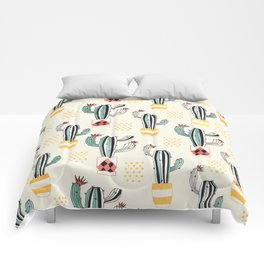 Cactus in a Pot small-scale Comforters