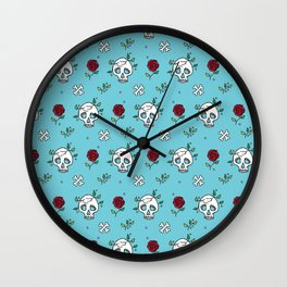 Deadly Cute Wall Clock