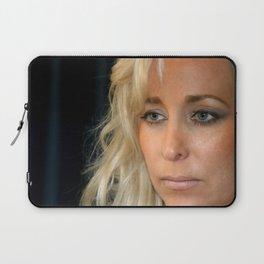 Blond Woman Laptop Sleeve