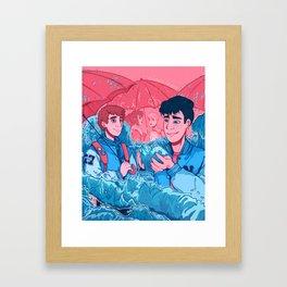 A King's Heart Framed Art Print