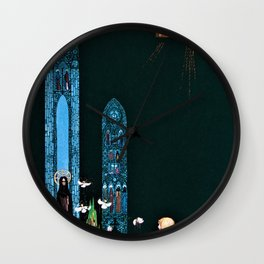 The Youngest Prince Who Reaches The Church Where The Heart Of The Giant Is Hidden Wall Clock