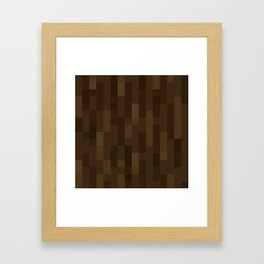 MC Spruce Log / Spruce Wood Framed Art Print