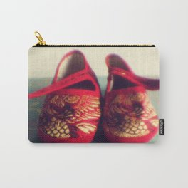 Two red shoes Carry-All Pouch