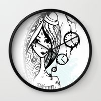 watch Wall Clocks featuring watch by DanilaTrubarova