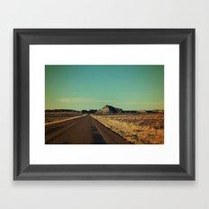 Lone Encounter Framed Art Print