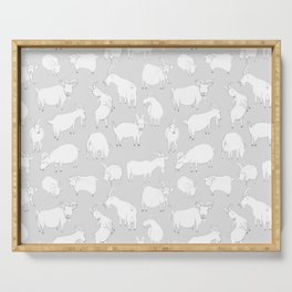 Charity fundraiser - Grey Goats Serving Tray