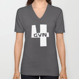 Christian T-Shirt - 4GVN Unisex V-Neck