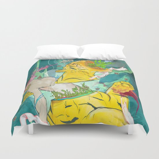 Unborn Moment Duvet Cover