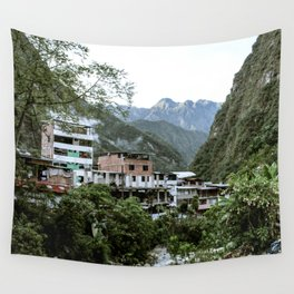 Aguas Calientes Wall Tapestry