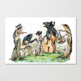 Bluegrass Gang Canvas Print