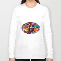comics Long Sleeve T-shirts featuring Comics by AntWoman