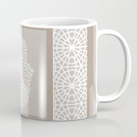islam Mugs featuring Hamsa in morrocan pattern by Heaven7