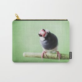 A Finch's Curiosity Carry-All Pouch