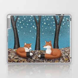 starlit foxes Laptop & iPad Skin