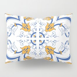 Azulejo Portugues 2 Pillow Sham