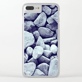 On The Rocks II Clear iPhone Case