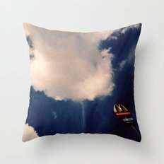 City Limits Throw Pillow