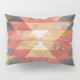 Reclaimed Triangle Pattern Pillow Sham