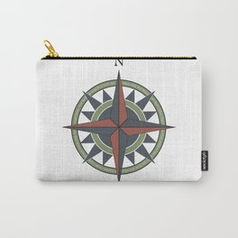 Chicago - North Side Compass Carry-All Pouch