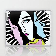 The Three Faces Laptop & iPad Skin