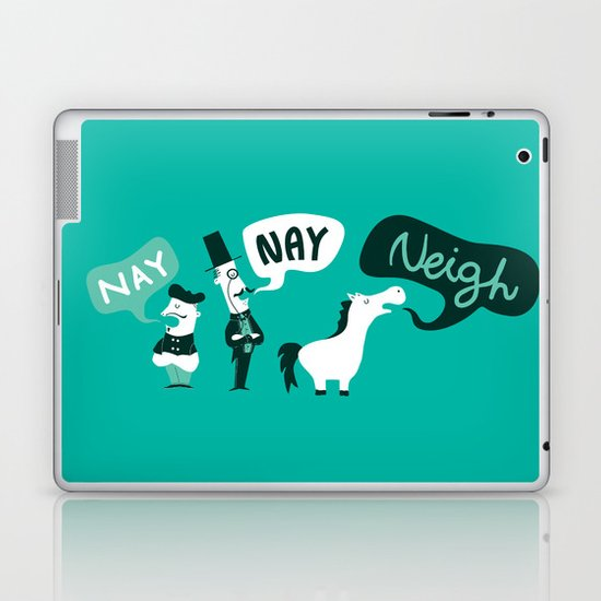 The Naysayers Laptop & iPad Skin
