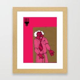 1001 Black Men--#263 Framed Art Print