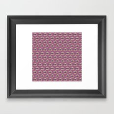 Shells on Pink Framed Art Print