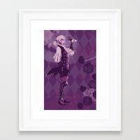 fire emblem Framed Art Prints featuring Fire Emblem Fates Joker by Cycha