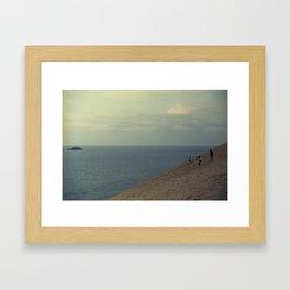 Tottori Seascape Framed Art Print