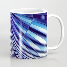 7694s-KMA Abstract Blue Nude Intimate Sexy Hot Coffee Mug