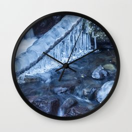 Ice and Water, No. 3 Wall Clock