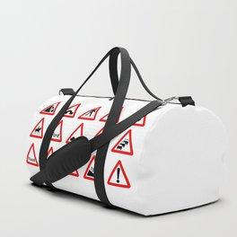 15 Triangle Traffic Signs Duffle Bag