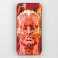 muscle iPhone & iPod Skins featuring Muscle Man by Donovan Justice