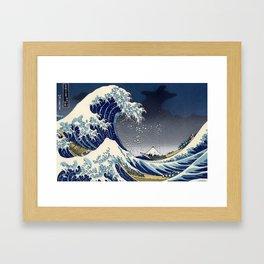 Great Wave: Kanagawa Night Framed Art Print