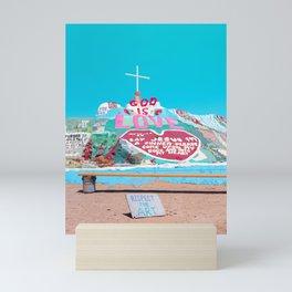 Salvation Mountain: Respect the Art Mini Art Print