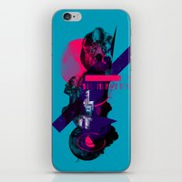 fullmetal alchemist iPhone & iPod Skins featuring Alchemist Geometry by Largetosti