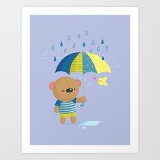 Rainy Season Art Print