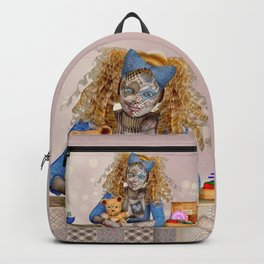 Polly Patchwork's Sewing Company Backpack