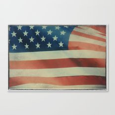 Stars & Stripes Canvas Print