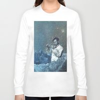 fullmetal alchemist Long Sleeve T-shirts featuring THE ALCHEMIST by Julia Lillard Art