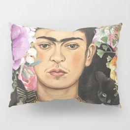 Frida Flower abstract Pillow Sham