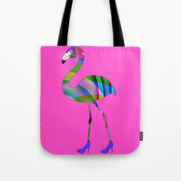 Chic Flamingo Tote Bag
