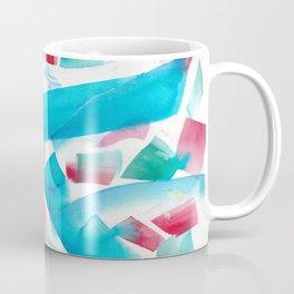 180719 Koh-I-Noor Watercolour Abstract 10| Watercolor Brush Strokes Coffee Mug