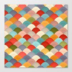 yarn hill dollops summer Canvas Print