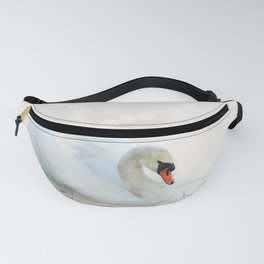 The white swan Fanny Pack